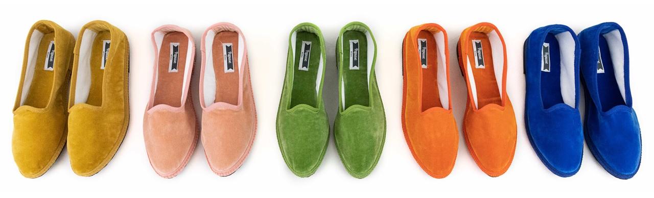scarpe friulane - Papusse velvet slippers