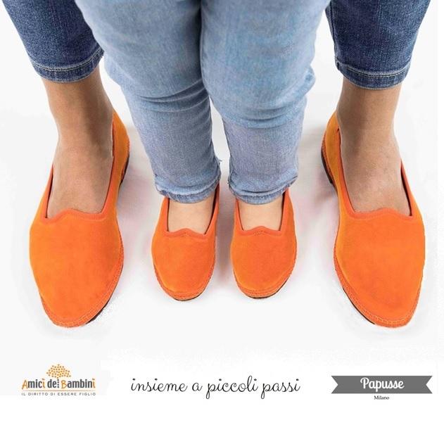 scarpe in velluto